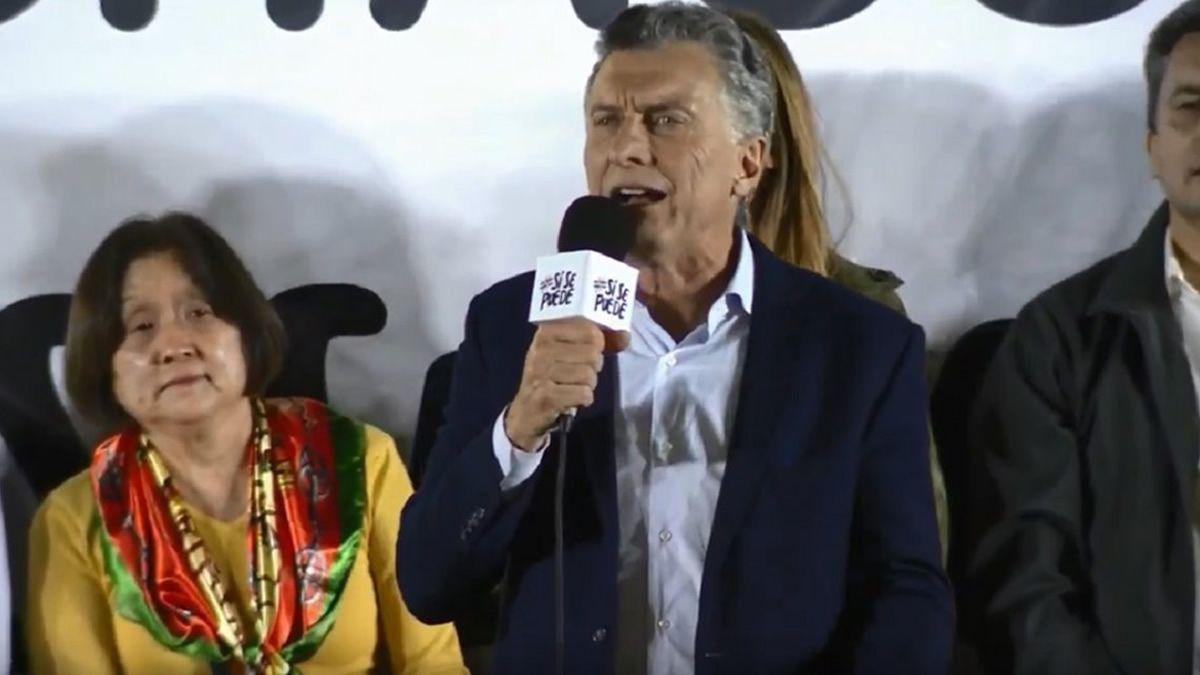 En la marcha del Sí Se Puede, Macri se confundió de provincia