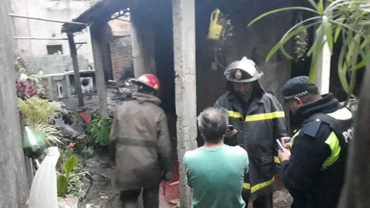 Una vivienda se incendió: perdí todo, dijo el propietario