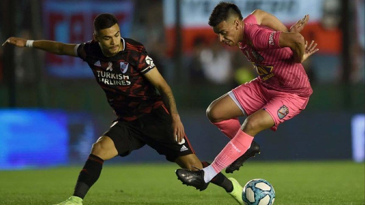 En Sarandí, Arsenal y River igualaron 3 a 3 en un partidazo