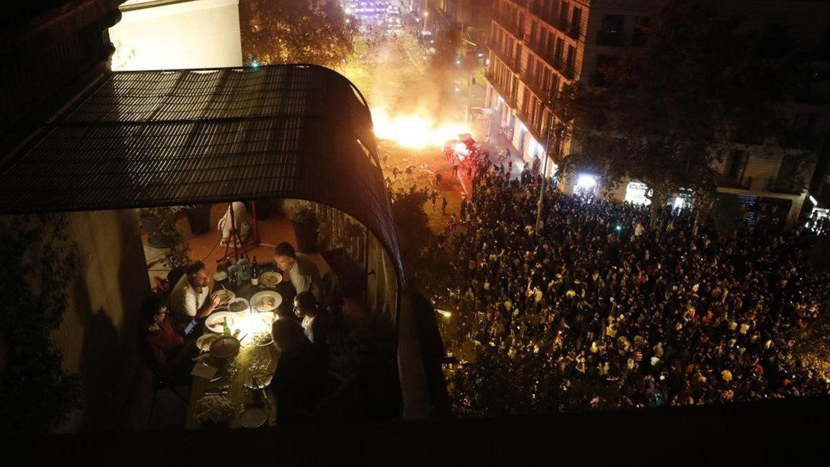 La paz en medio de las protestas