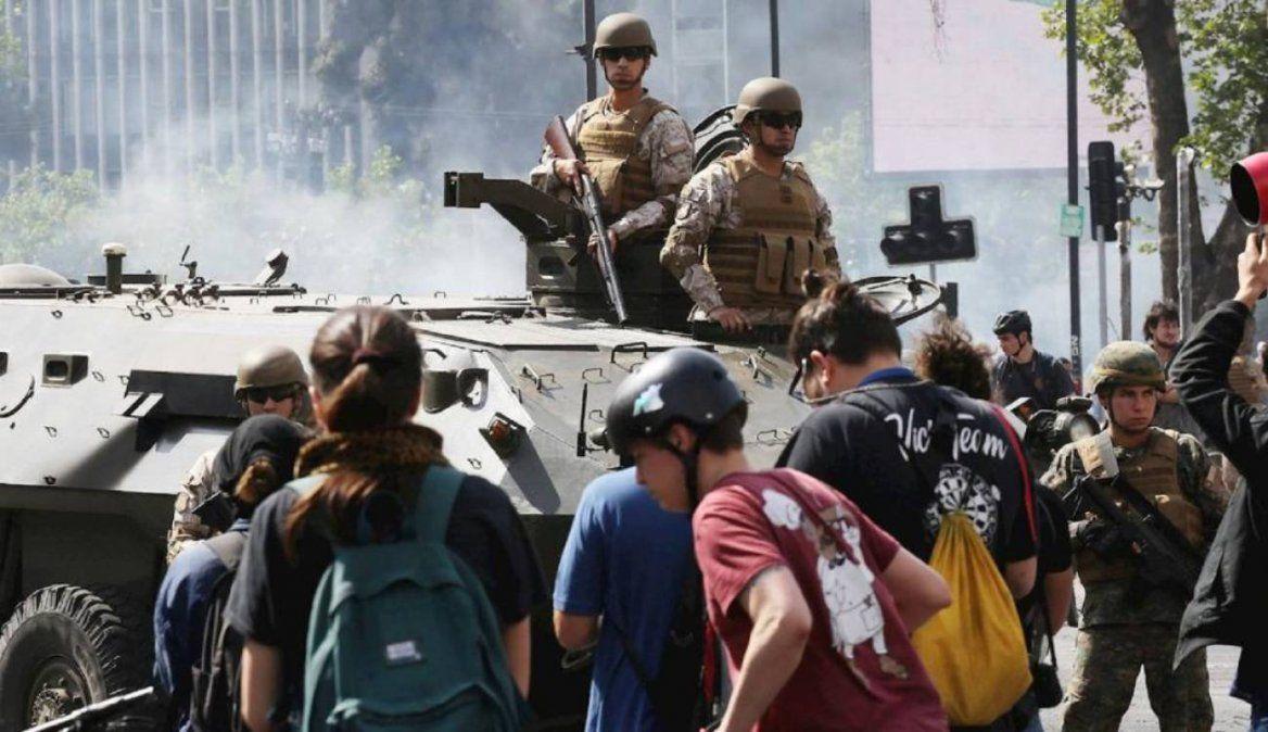 Se despliegan 1.500 militares más para controlar disturbios