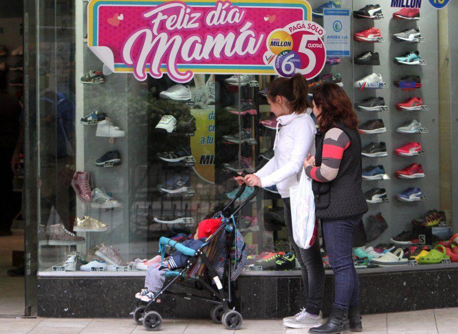 Cayeron un 12% las ventas por el Día de la Madre