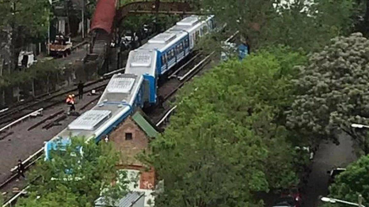 Descarriló una formación del tren Mitre en Tigre