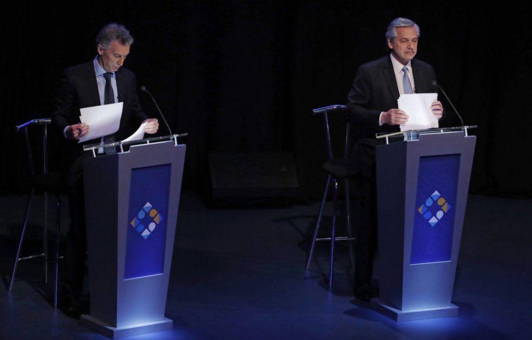 Las postales del debate presidencial