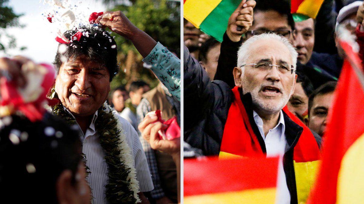 Cancelaron escrutinio provisorio en Bolivia