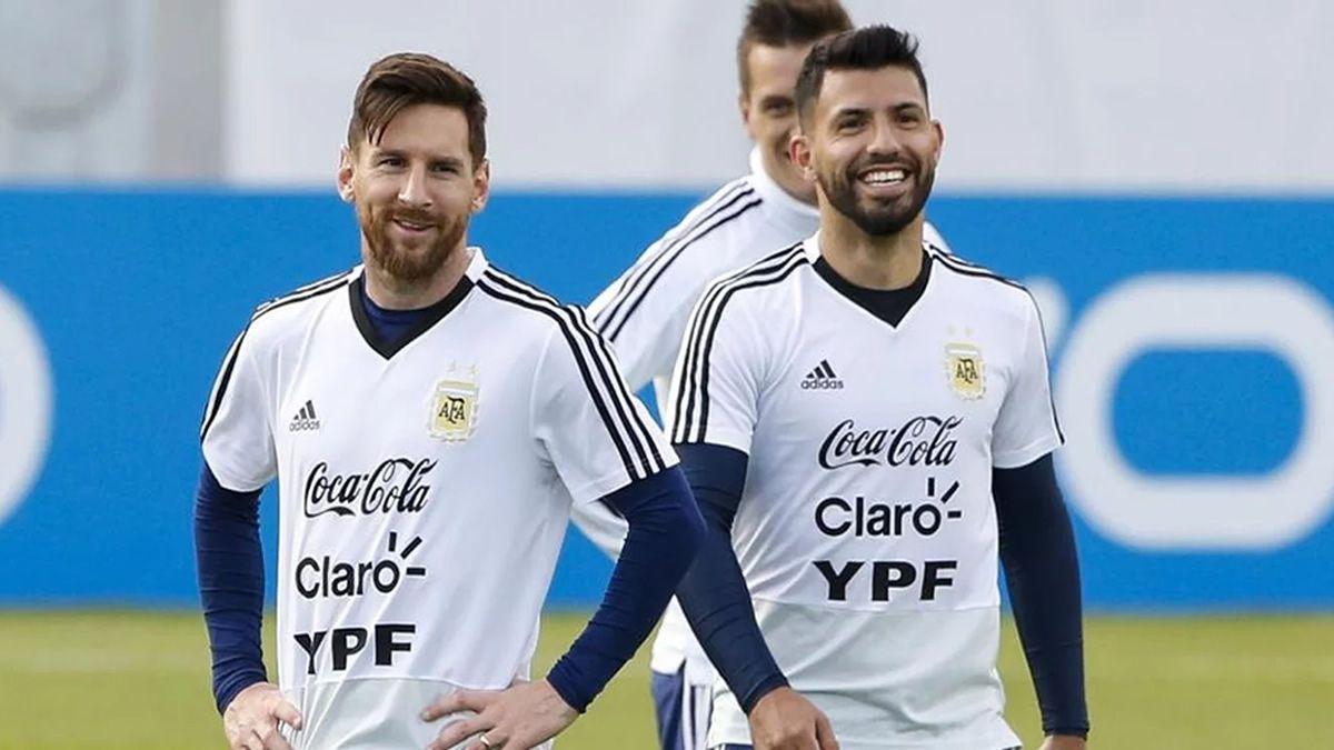 Lionel Messi y Sergio Agüero entre los nominados