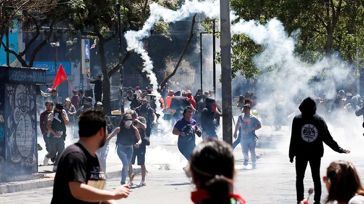 El alzamiento popular más importante desde el retorno de la Democracia