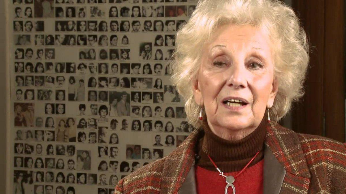 Estela de Carlotto: Quedan más de 300 nietos por recuperar