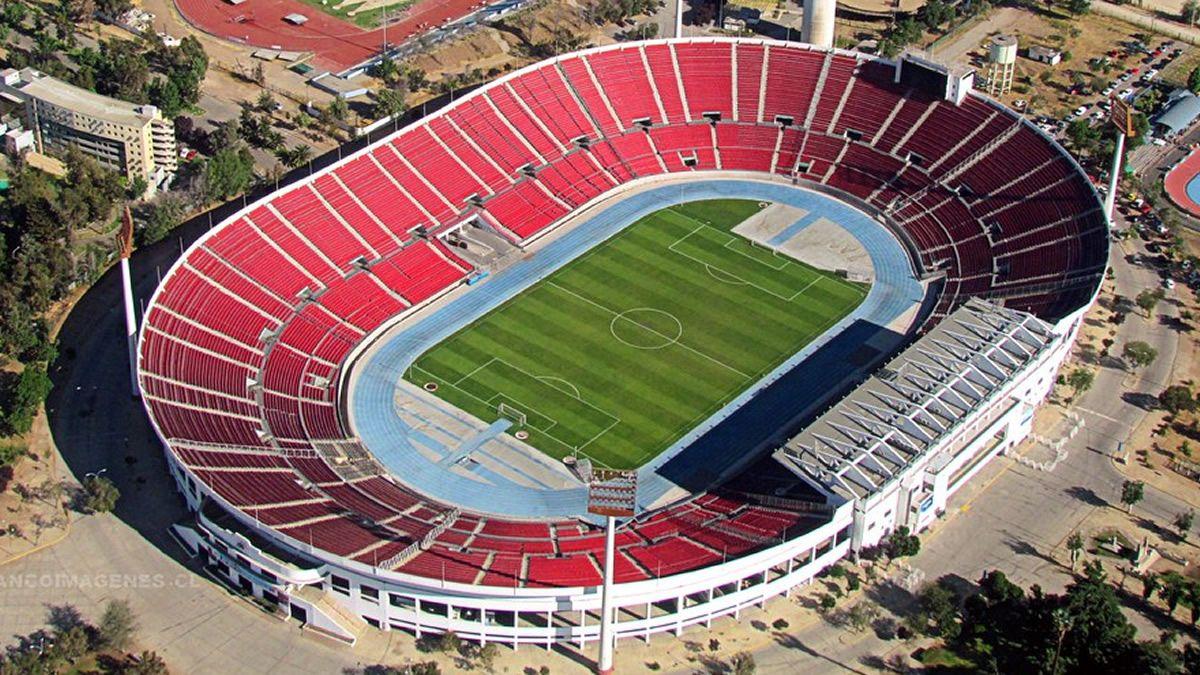 Estadio Nacional de Santiago de Chile.