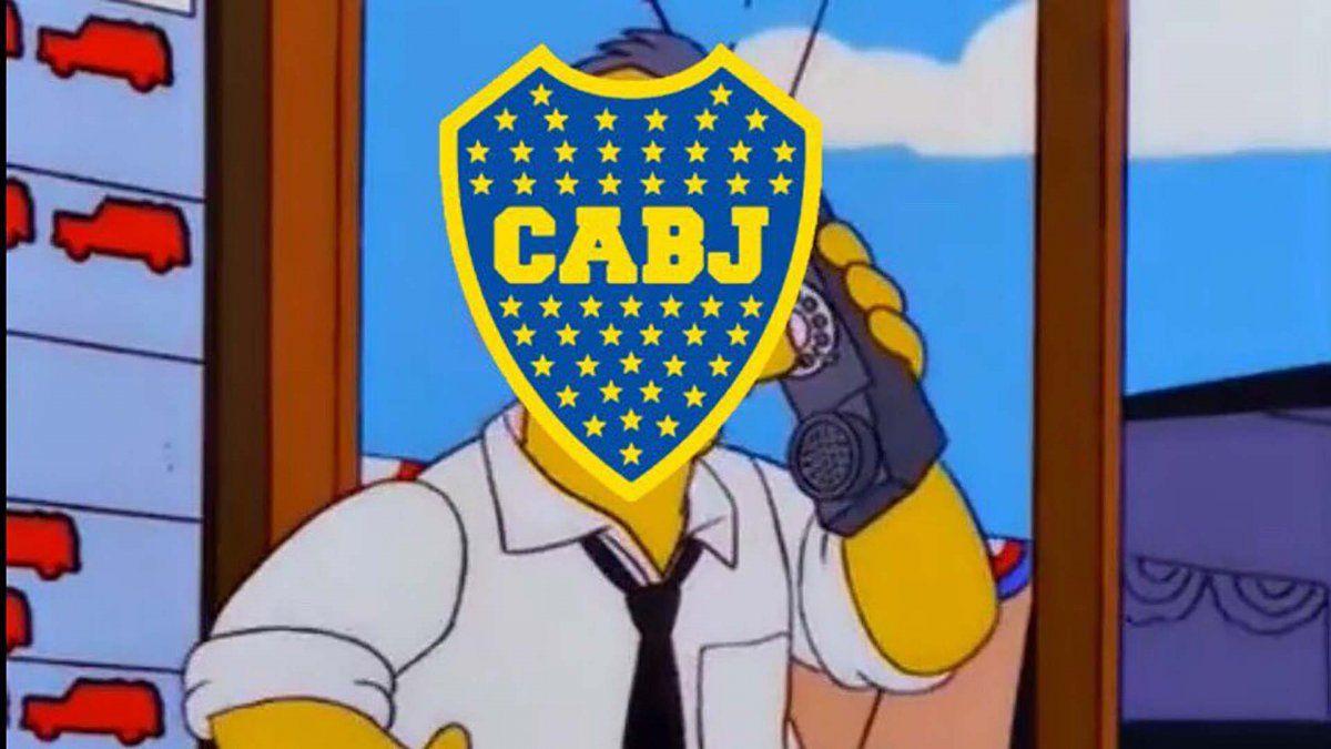 Los memes de una nueva eliminación de Boca ante River