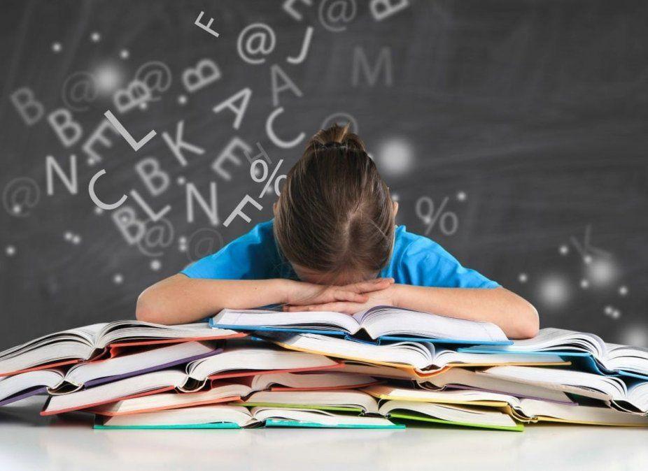 Uno de cada diez chicos en el mundo tiene dislexia