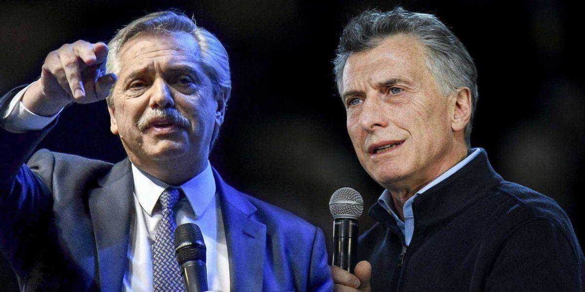 Fernández y Macri encabezan actos cerca del cierre de campañas