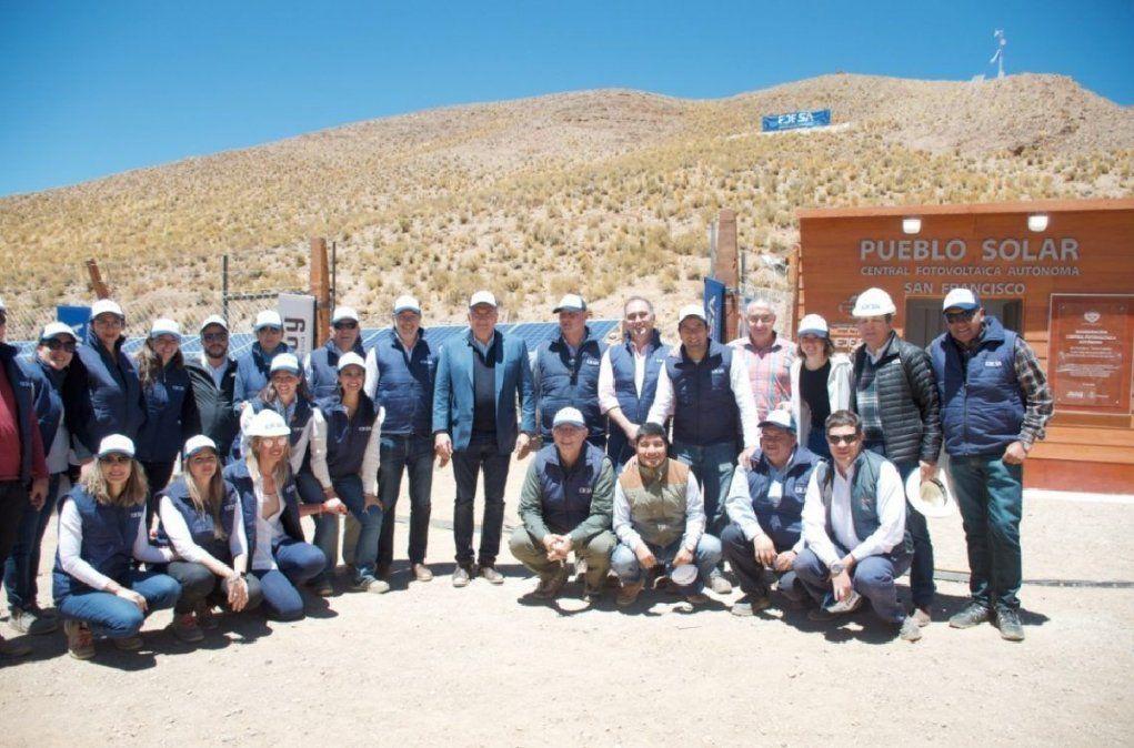 Quedó inaugurado el cuarto pueblo solar