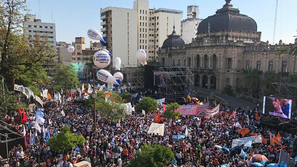 Jaldo: Nos unimos para sacar al gobierno más nefasto de la historia