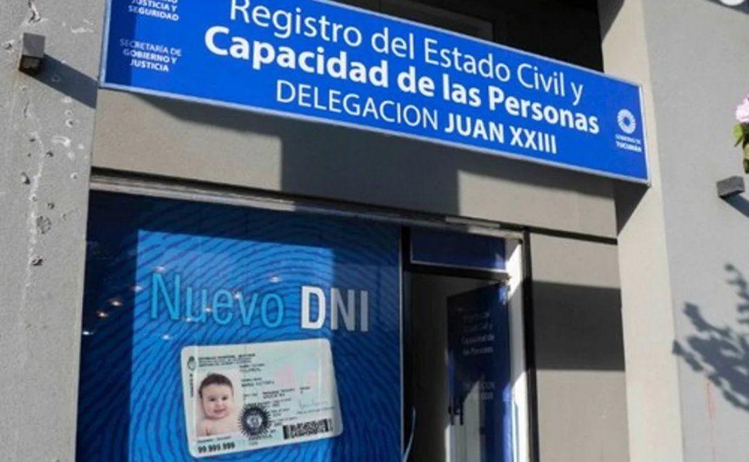 ¿Cómo funcionará el Registro Civil este fin de semana?