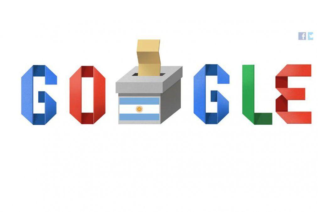 Google dedicó su doodle al sufragio argentino