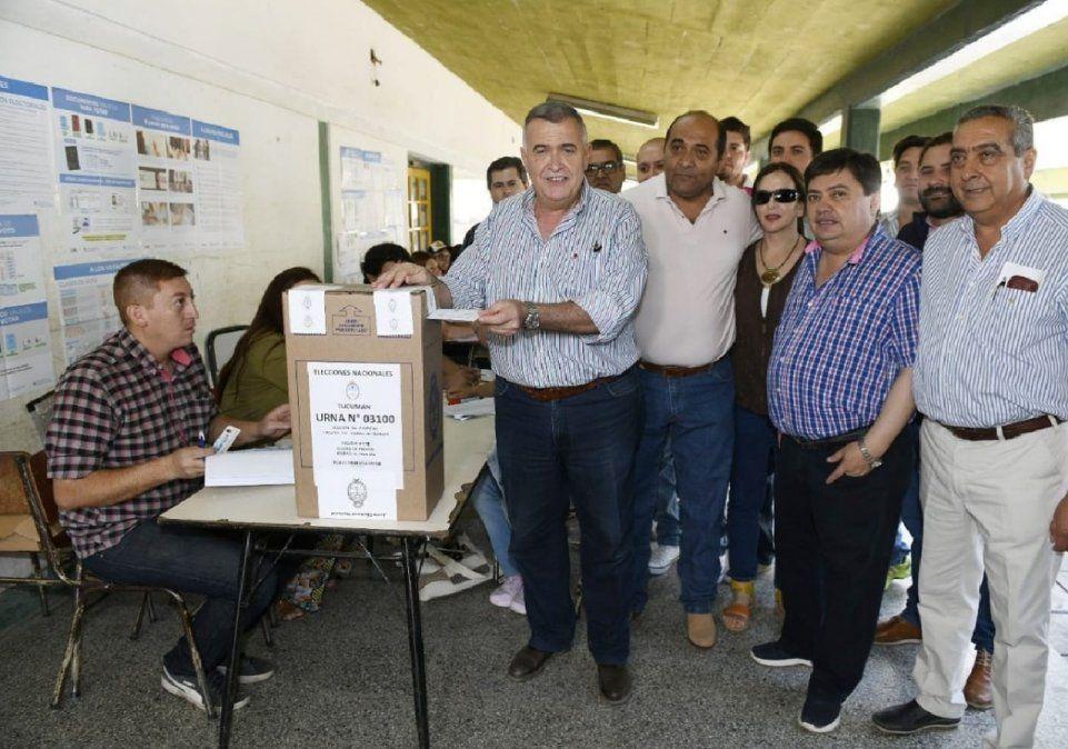 Votó Osvaldo Jaldo: será una fiesta histórica