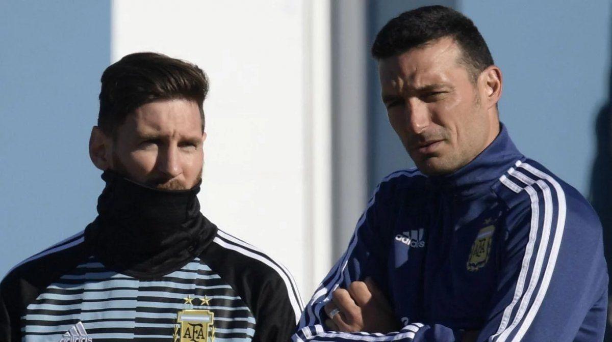 Messi y Scaloni volverán a compartir la selección.
