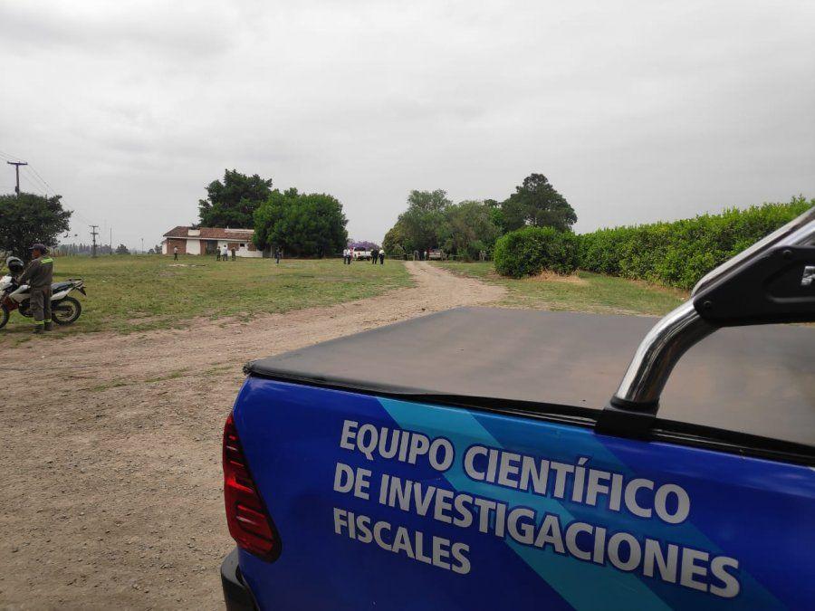 Lugar donde ocurrió el crimen.