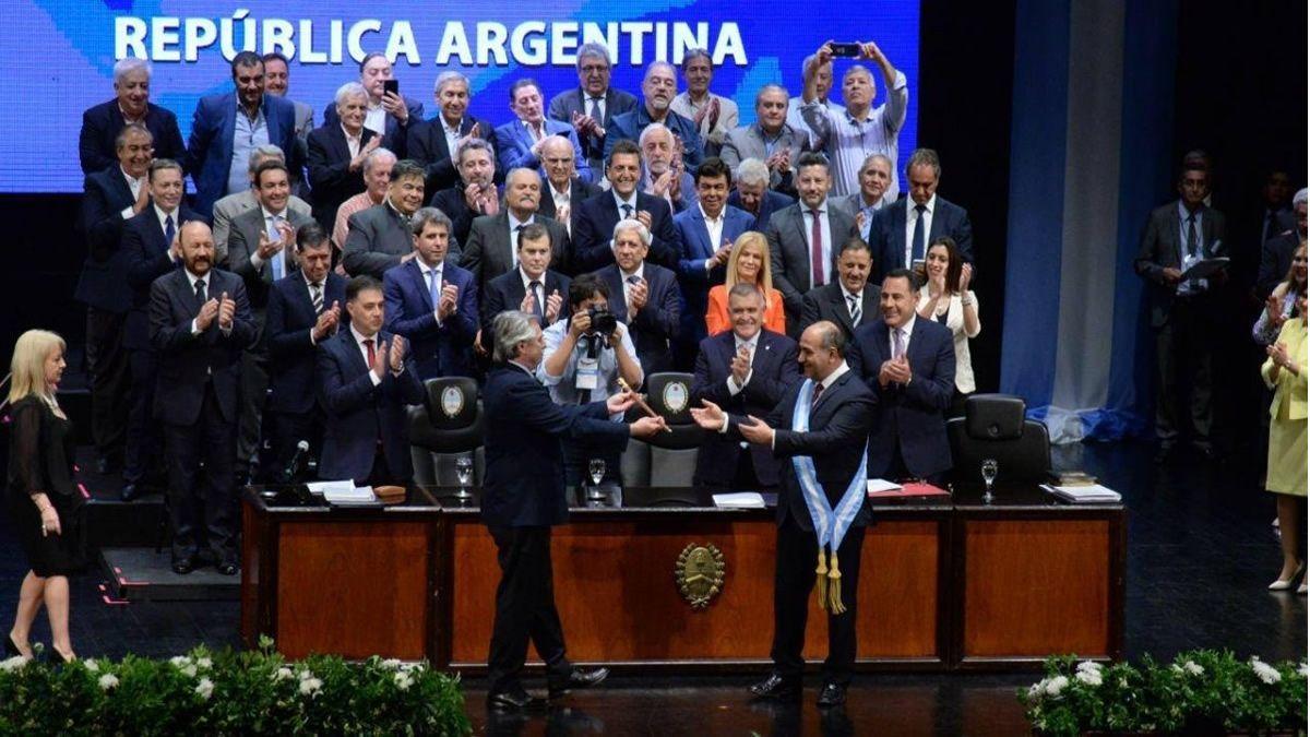 En Tucumán, Manzur y Fernández captaron la escena política nacional
