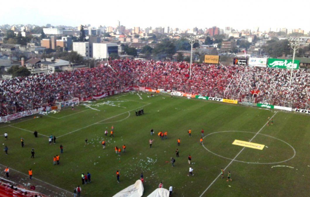 San Martín quiere festejar junto a sus fanáticos.