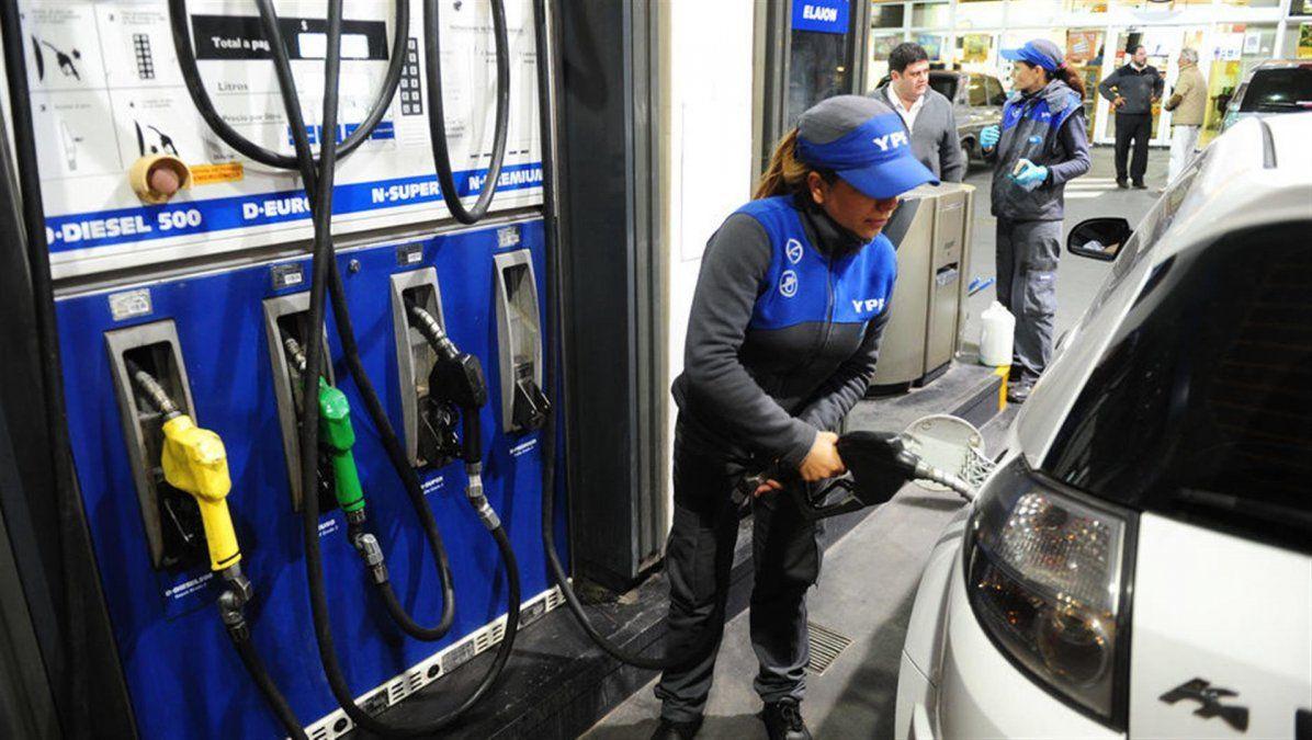 Aumenta un 5% el precio de los combustibles