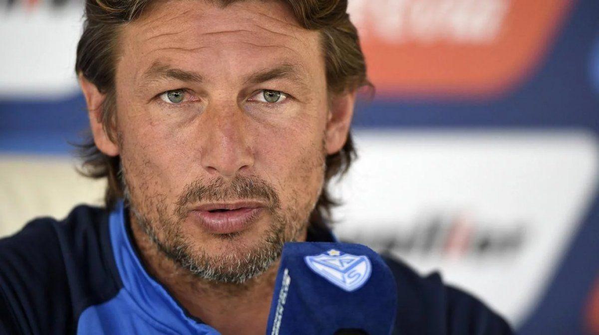 Gabriel Heinze es el técnico de Vélez