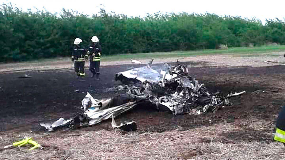Se estrelló una avioneta en Venado Tuerto: dos muertos