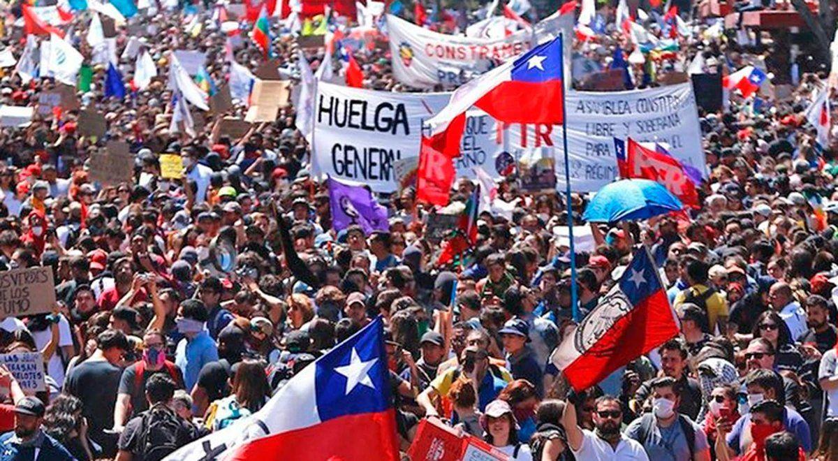Continúan las protestas en las calles de Chile