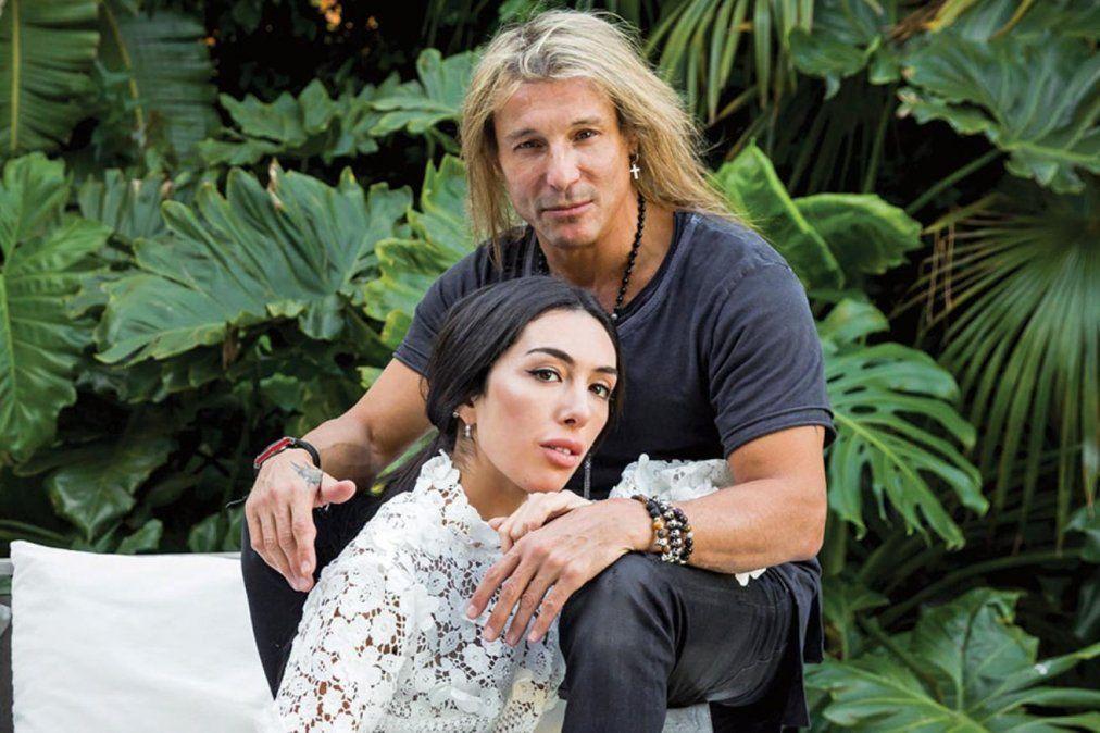 Caniggia y Bonelli viajaron a México para comprometerse