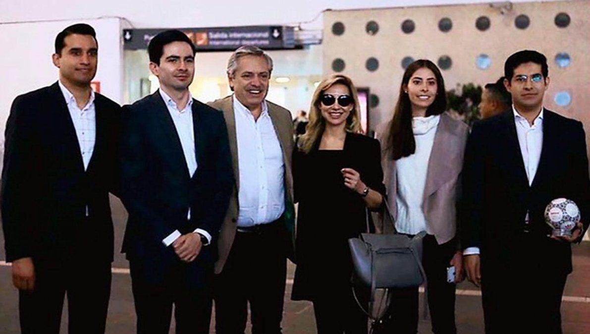 ¿Con quiénes se reunirá Alberto Fernández en México?