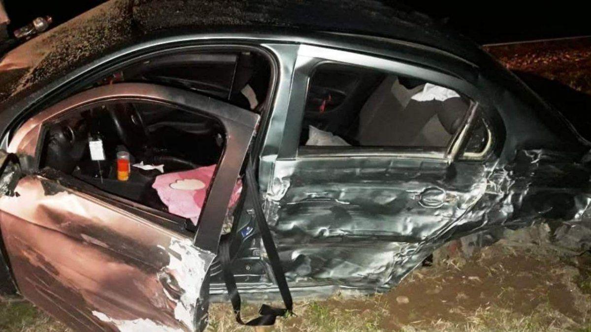 Accidente sobre ruta 38: tres mujeres heridas