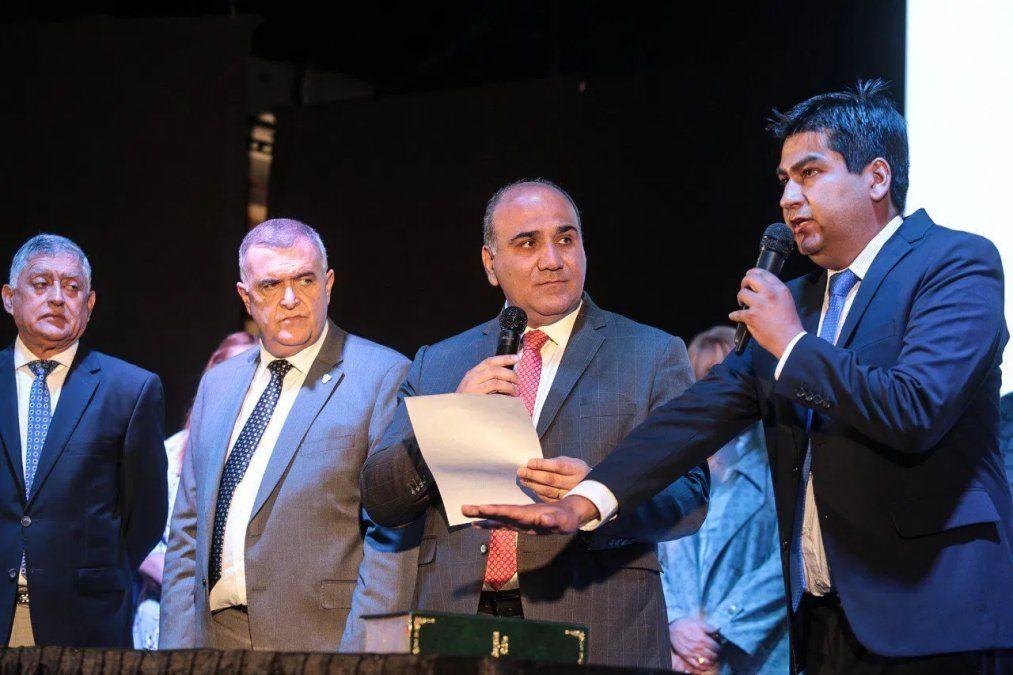 Asumió su segundo mandato como intendente Leopoldo Rodríguez