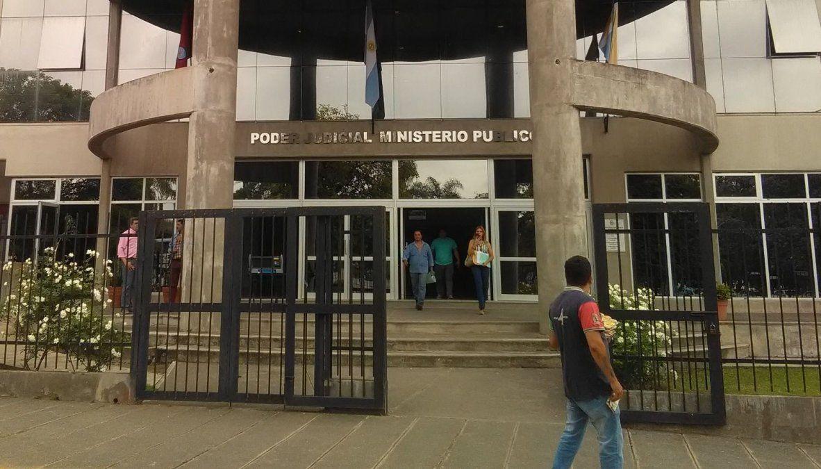 Los tribunales en Metán donde investigan distintos abusos.