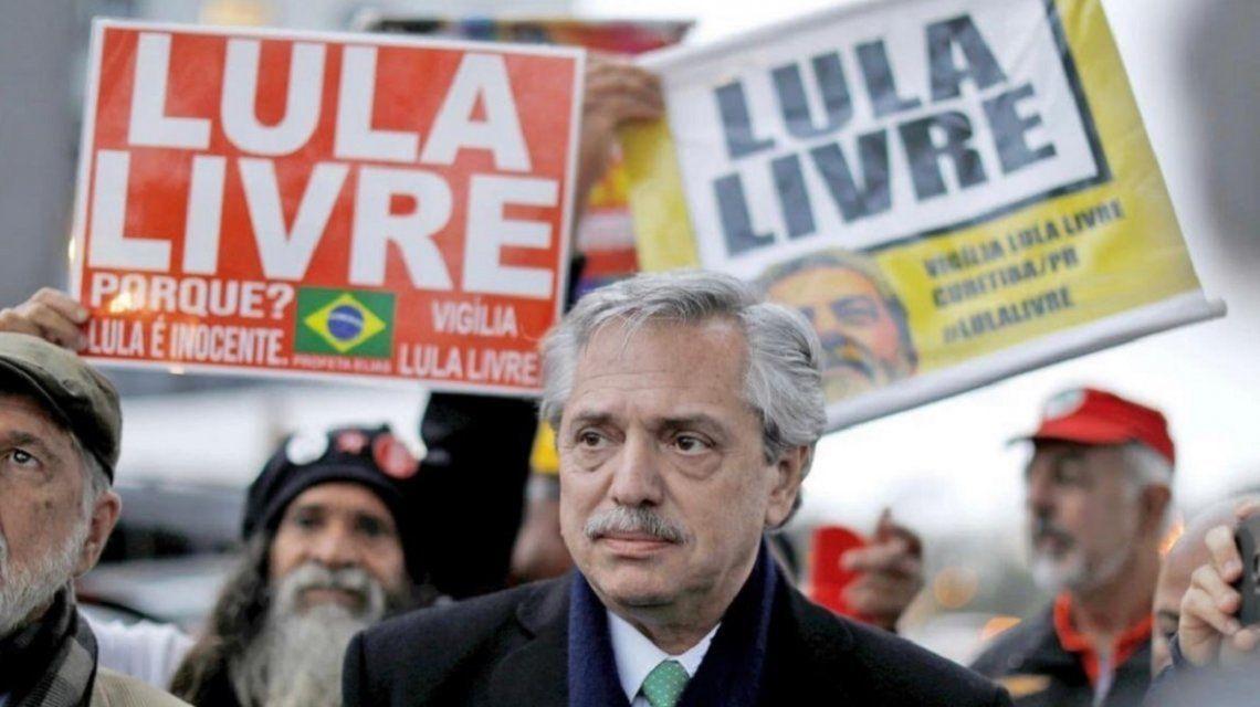 Alberto Fernández celebró el fallo que favorece a Lula