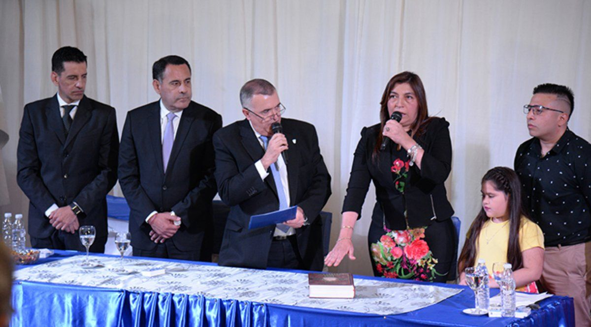 Sandra Figueroa reasumió como intendenta de Alberdi