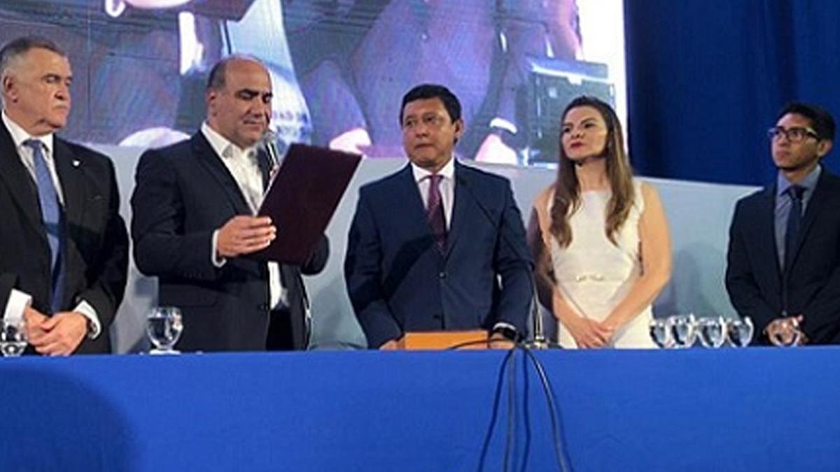 Darío Monteros reasumió como intendente de Banda de Río Salí
