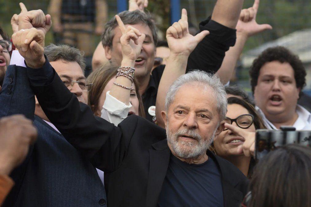 Lula le agradeció a Alberto Fernández