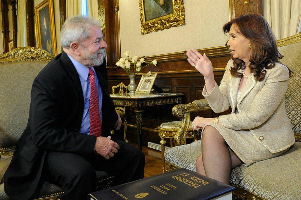 La palabra que utilizó Cristina tras la liberación de Lula