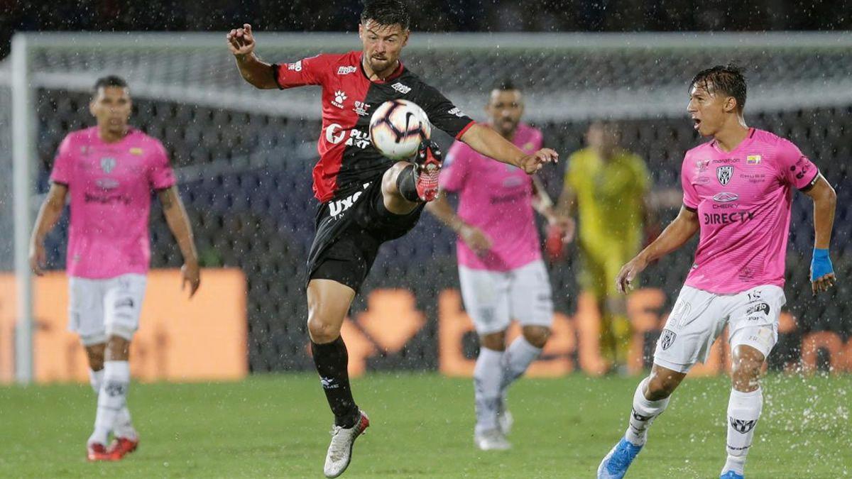 Colón perdió la final ante Independiente del Valle