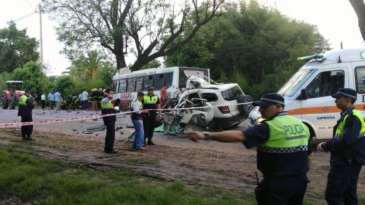 Fatal accidente a la altura de la localidad de La Invernada