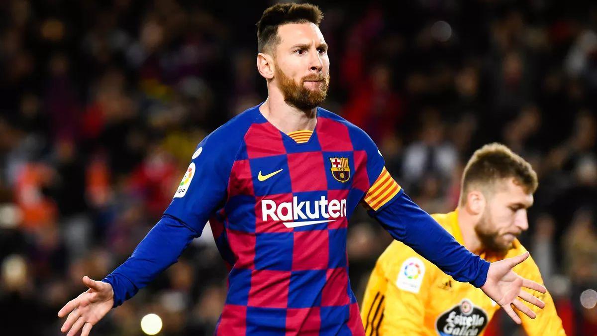 Messi anotó un hat-trick para la victoria del Barcelona