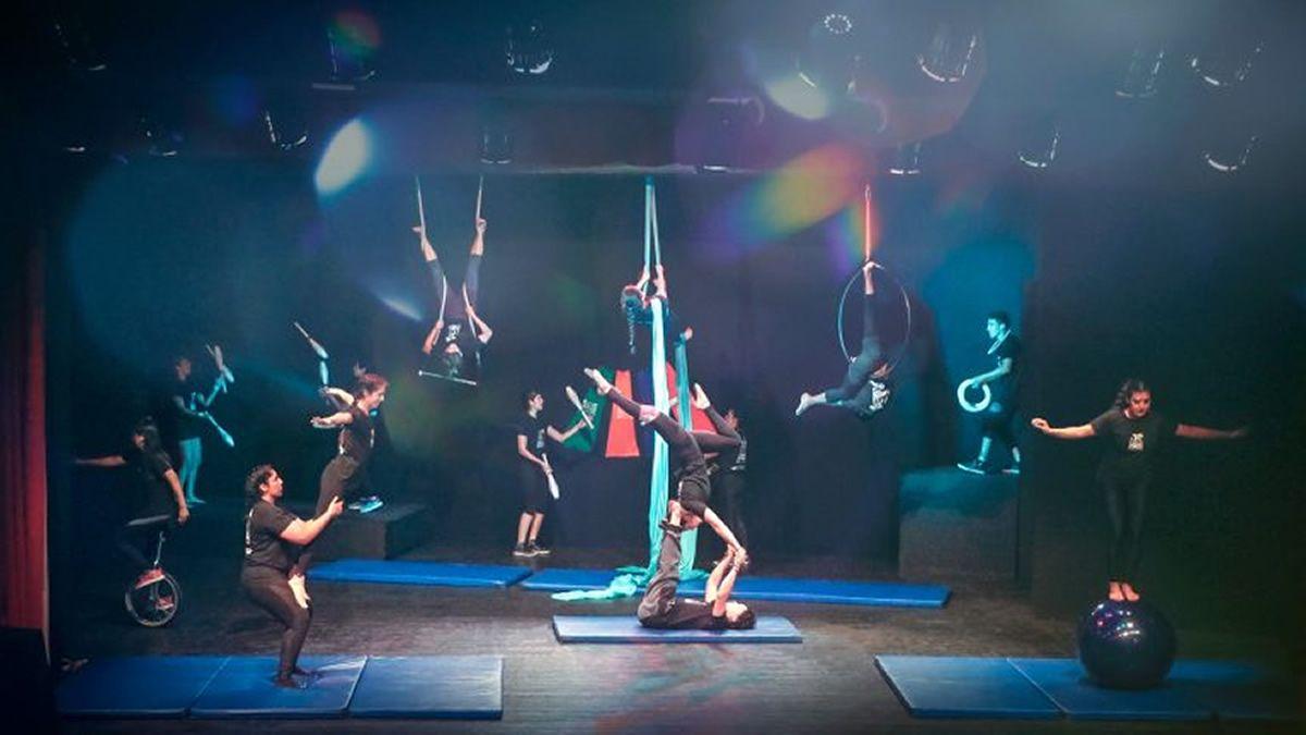 Muestra del Grupo Takay y la Escuela de Circo