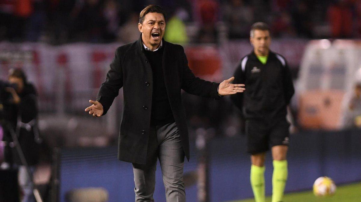 Marcelo Gallardo se lamentó por la derrota.