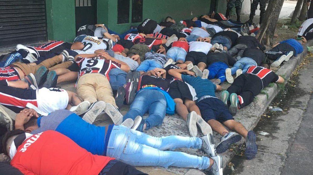 Incidentes y 98 detenidos en la previa de Chacarita-Tigre