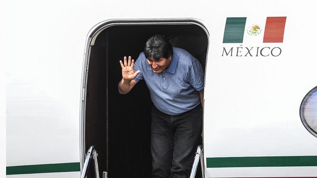 Evo Morales ya está en México: Seguiré en la lucha