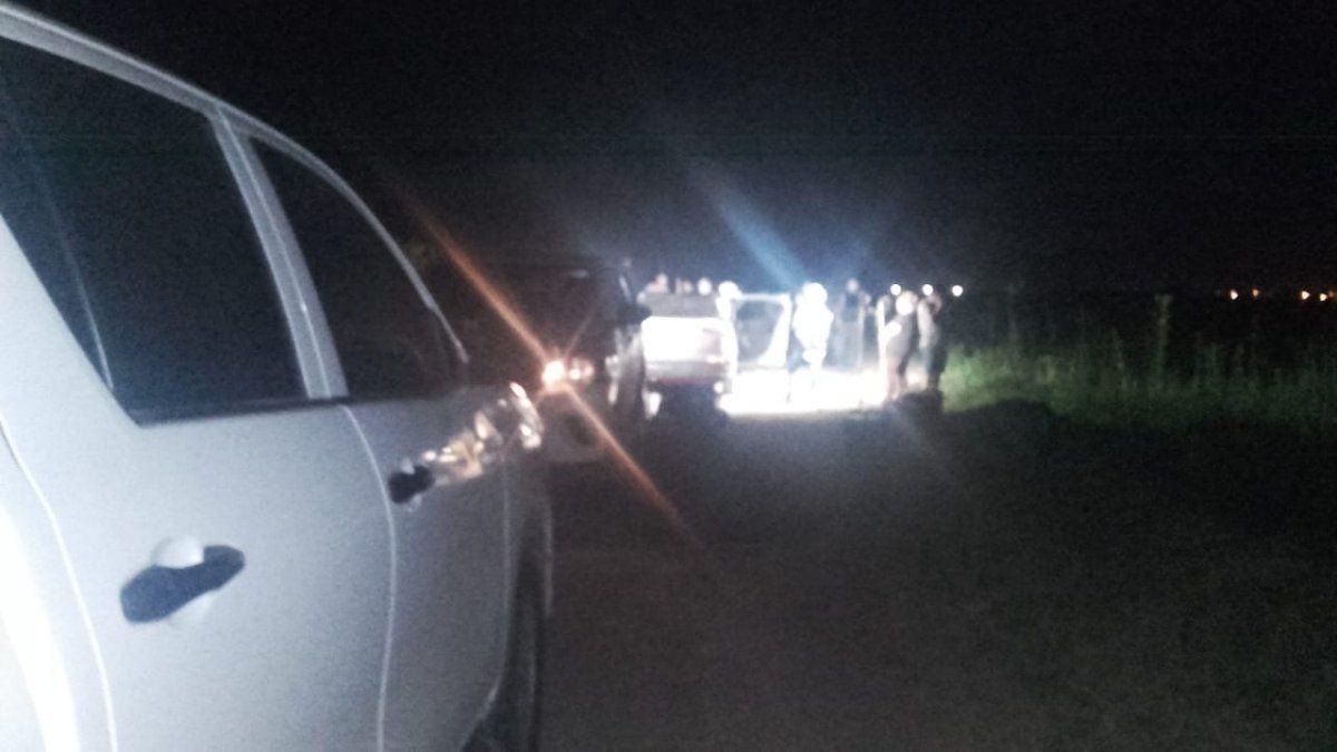 Tucumán-Famaillá la noche que localizan el vehículo