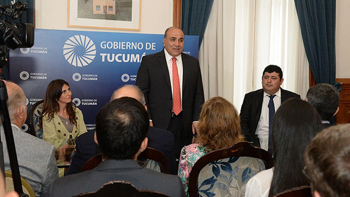 Juan Manzur encabezó la primera reunión del Gabinete provincial