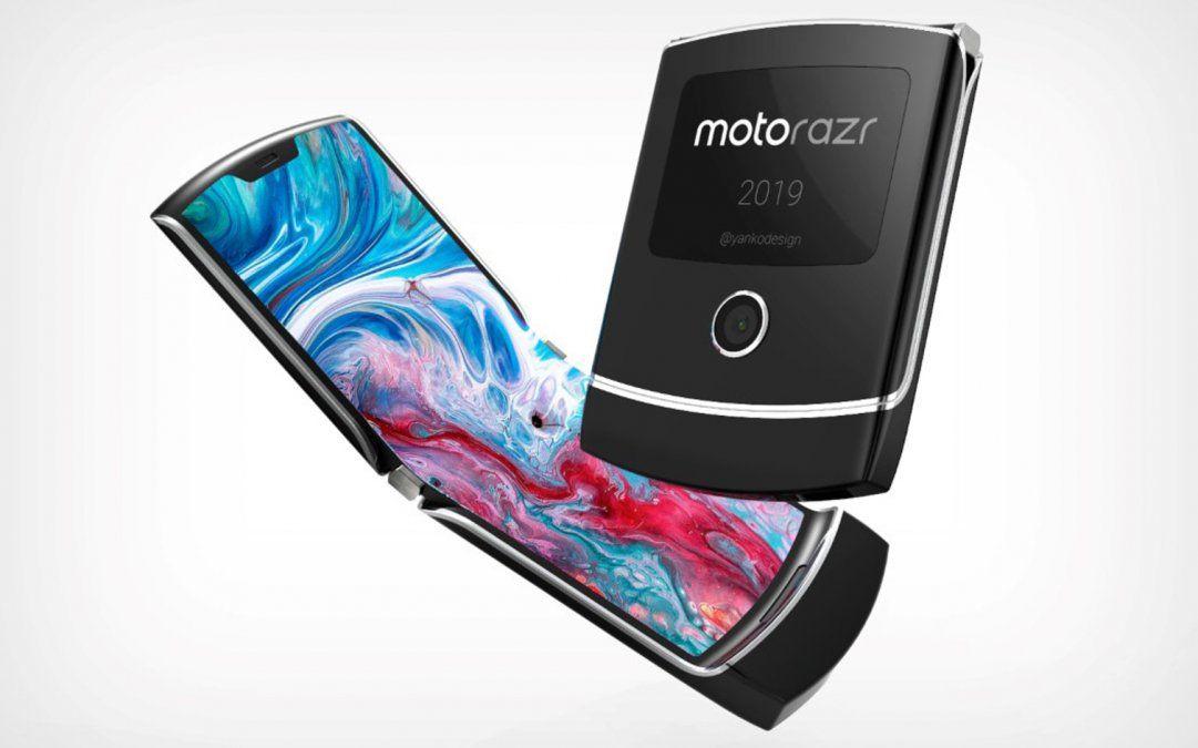 El Motorola Razr tiene una pantalla Oled de plástico de 6
