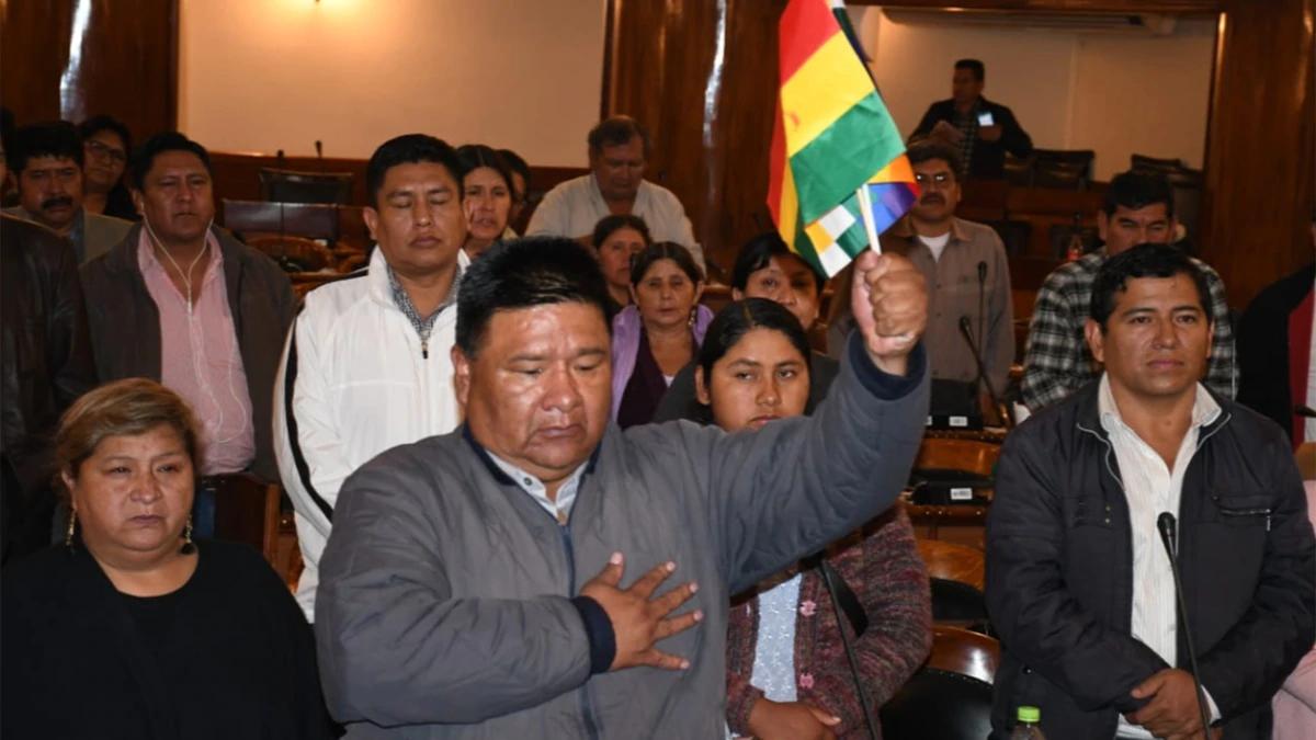 El líder de la bancada de Evo asumió la presidencia de la Cámara de Diputados
